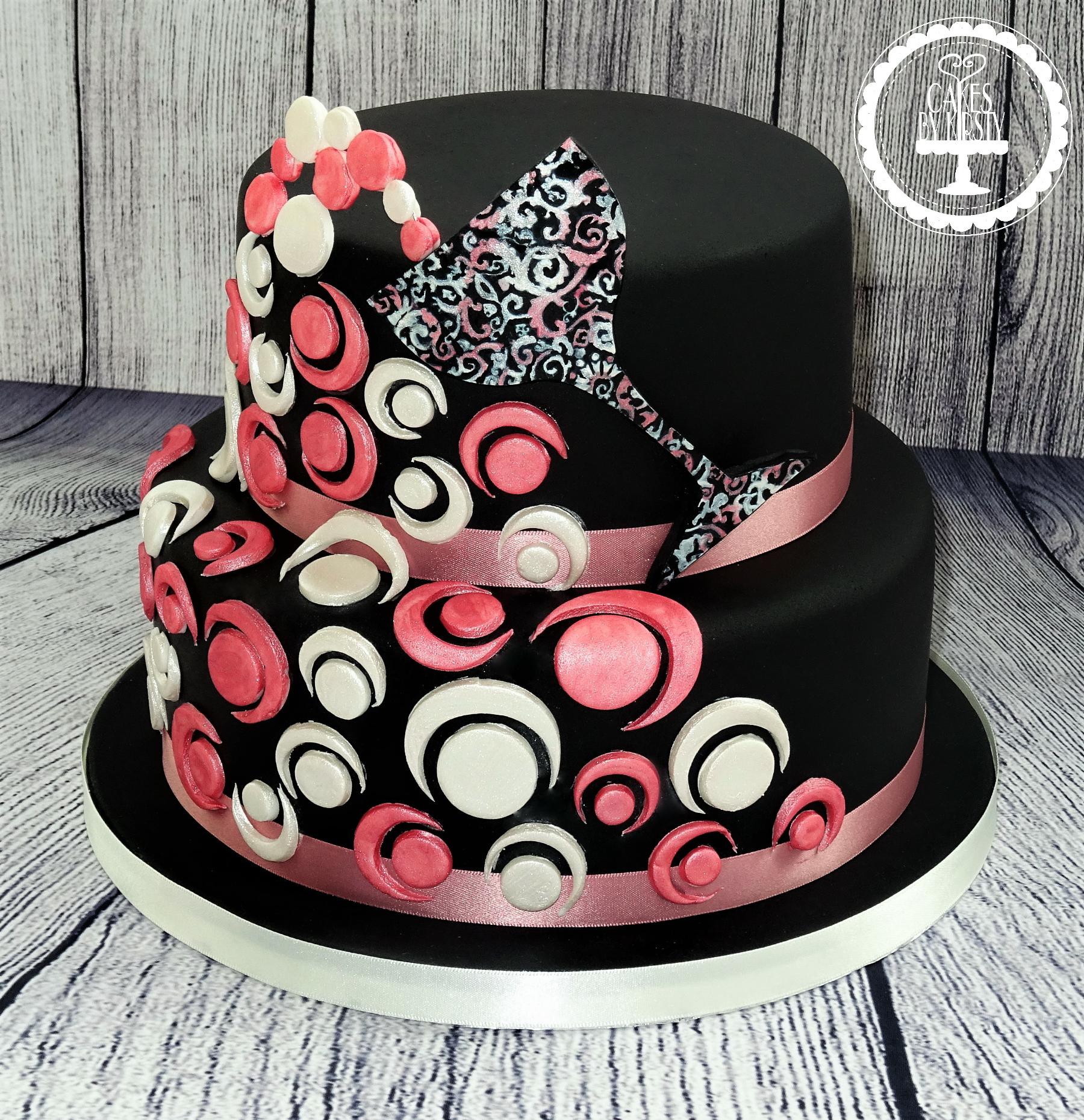 Champagne Bubbles Cake