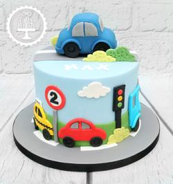 20191108 - Car Transport 2nd Birthday Ca