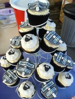 Emmerdale Cupcakes