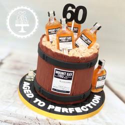 20200912 - Mount Gay Rum Barrel Cake