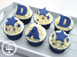 Fathers Day Cupcakes - Dad