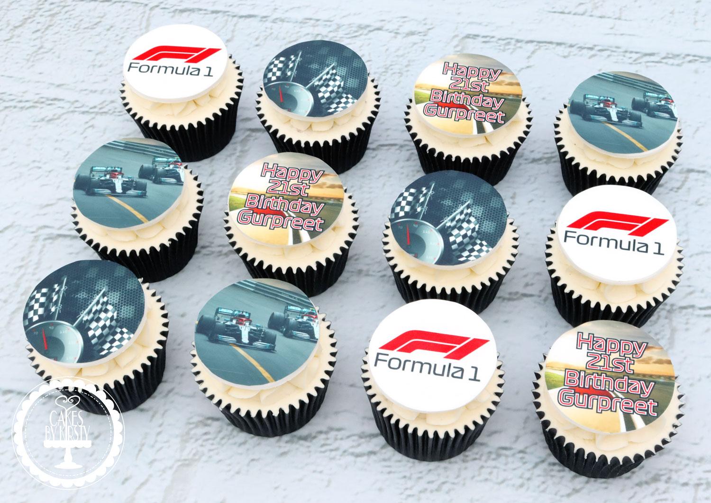 20200918 - F1 Racing Cupcakes