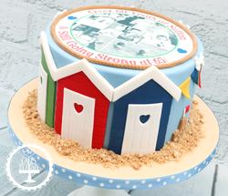 20190818 - Beach Chalet Birthday Cake
