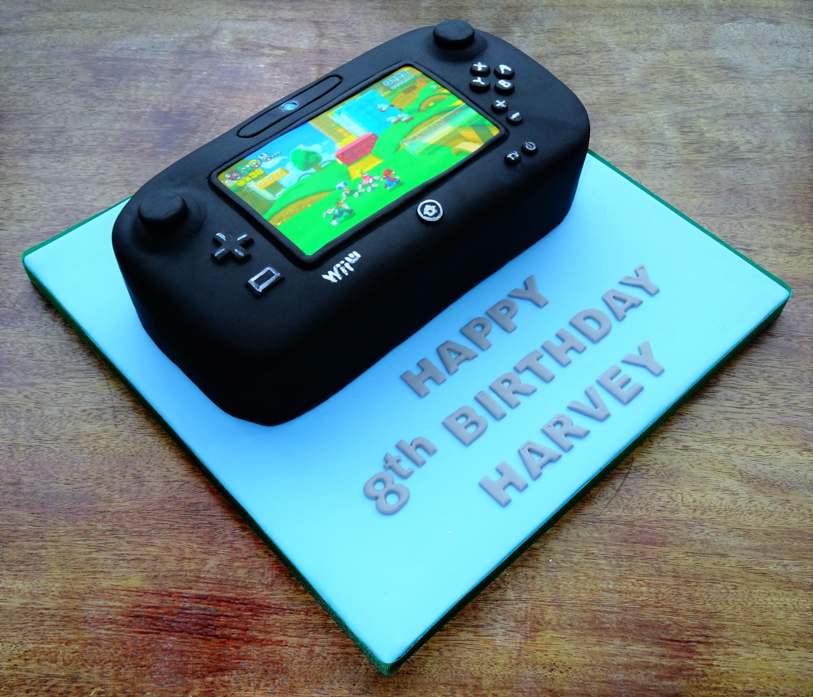 Wii U Cake