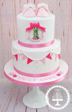 Flopsy Bunny Christening Cake