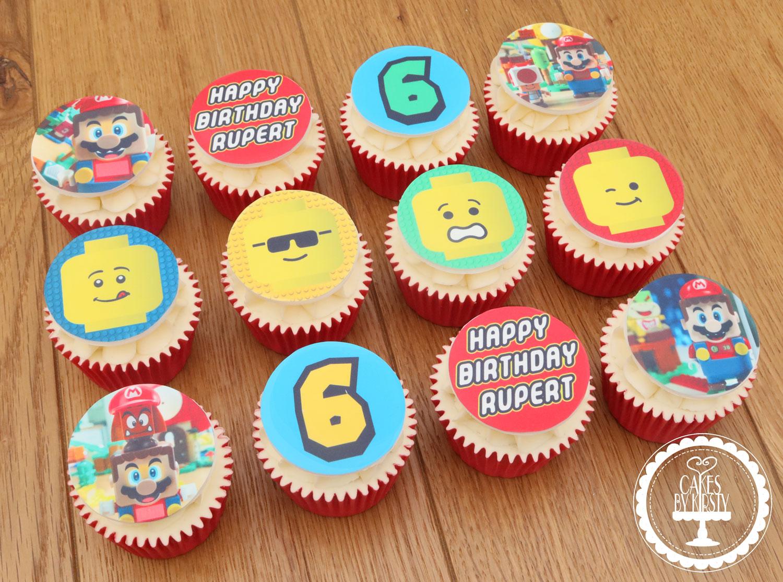 20210109 - Super Mario Lego Cupcakes