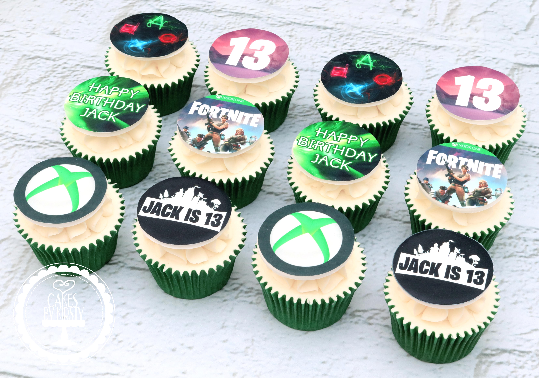 20190824 - Xbox Gaming Cupcakes