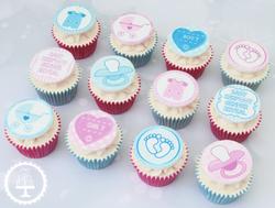 20190825 - Gender Reveal Cupcakes