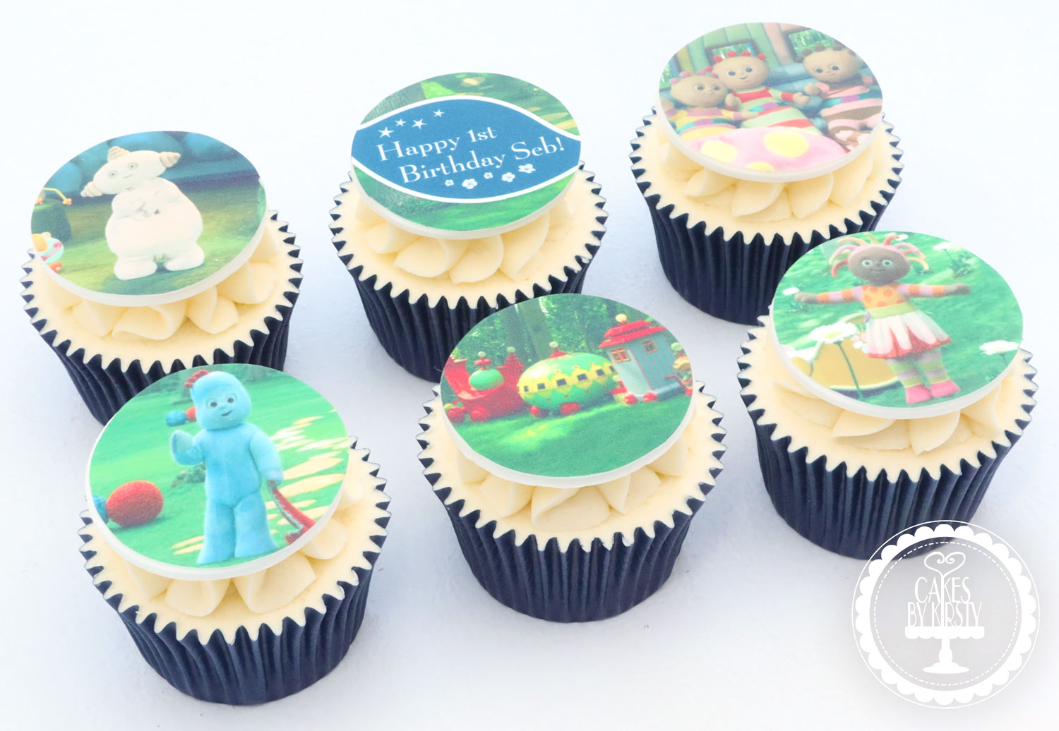 20201104 - In The Night Garden Cupcakes