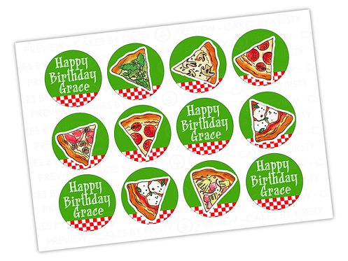 """Pizza Lover - 12x 2.25"""""""