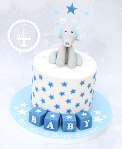 20200822 - Baby Shower (Boy) Cake