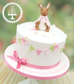 20190817 - Flopsy Bunny Christening Cake