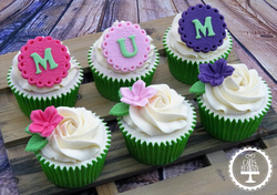 Floral Mother's Day Cupcakes