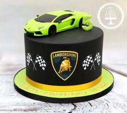 20191206 - Lamborghini 5th Birthday Cake