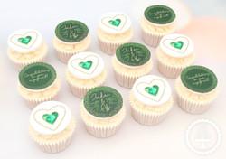 20200920 - Emerald Engagement Cupcakes
