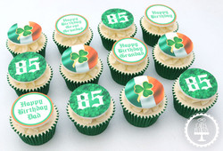 20201128 - Irish Cupcakes