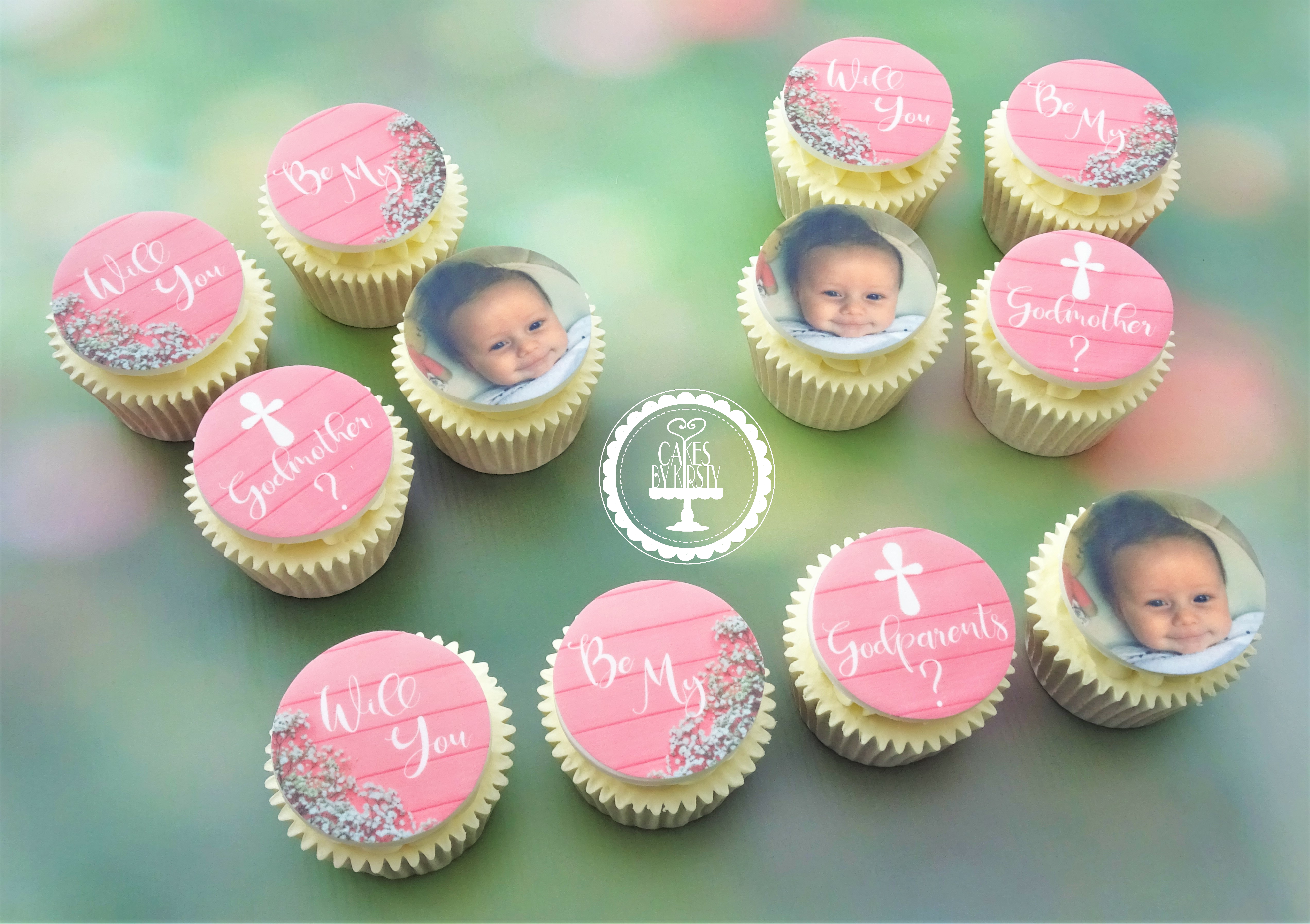 Godparents Cupcakes