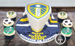20191004 - Leeds United Cake & Cupcakes