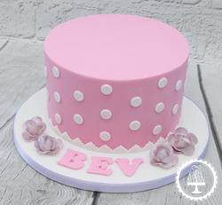 20190817 - Vintage Birthday Cake