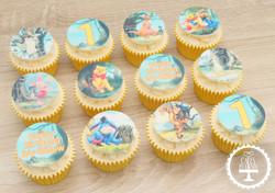 20210115 - Winnie the Pooh Cupcakes