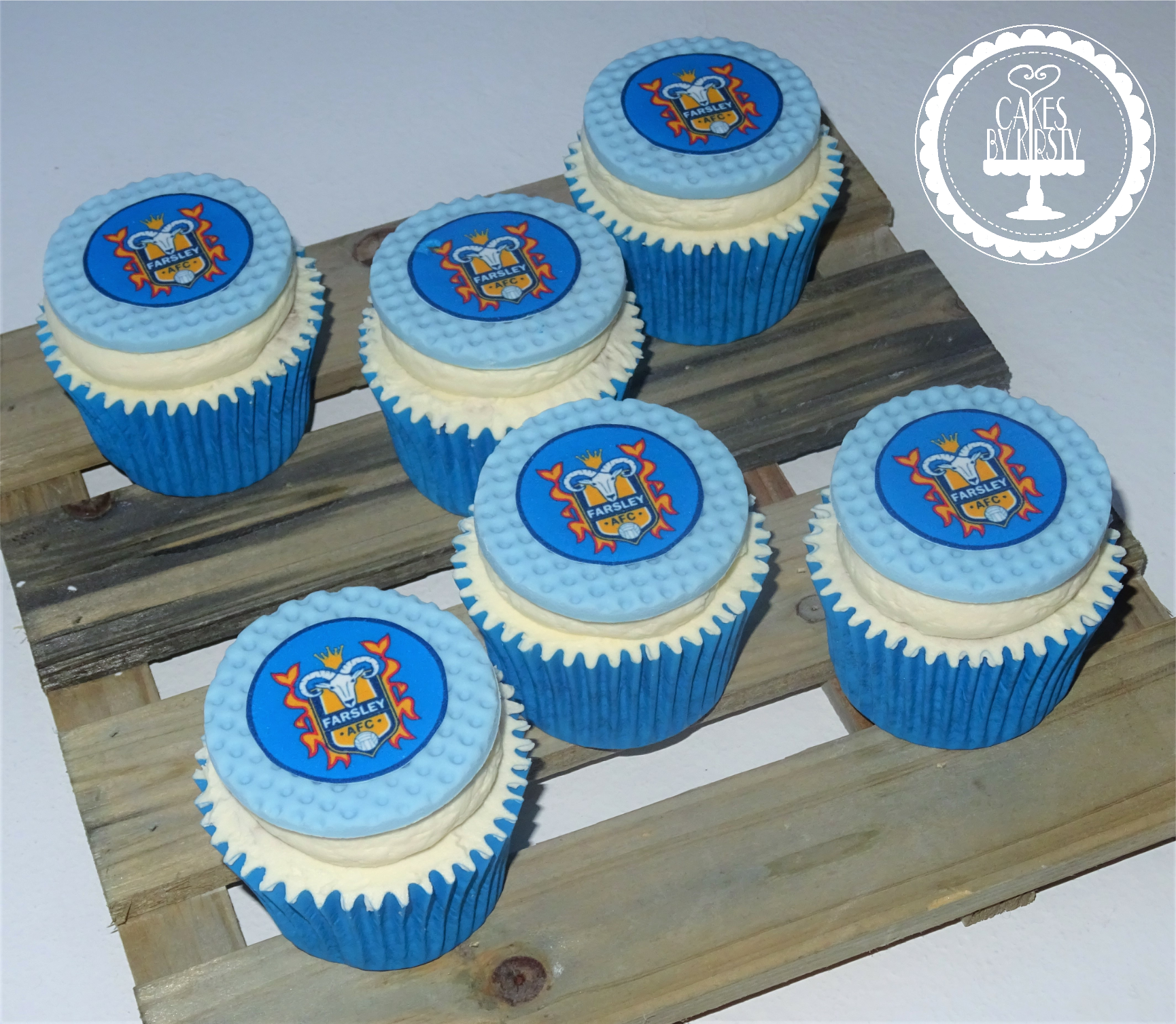 Farsley Celtic Cupcakes