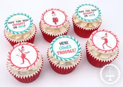 20201221 - Elf on the Shelf Cupcakes