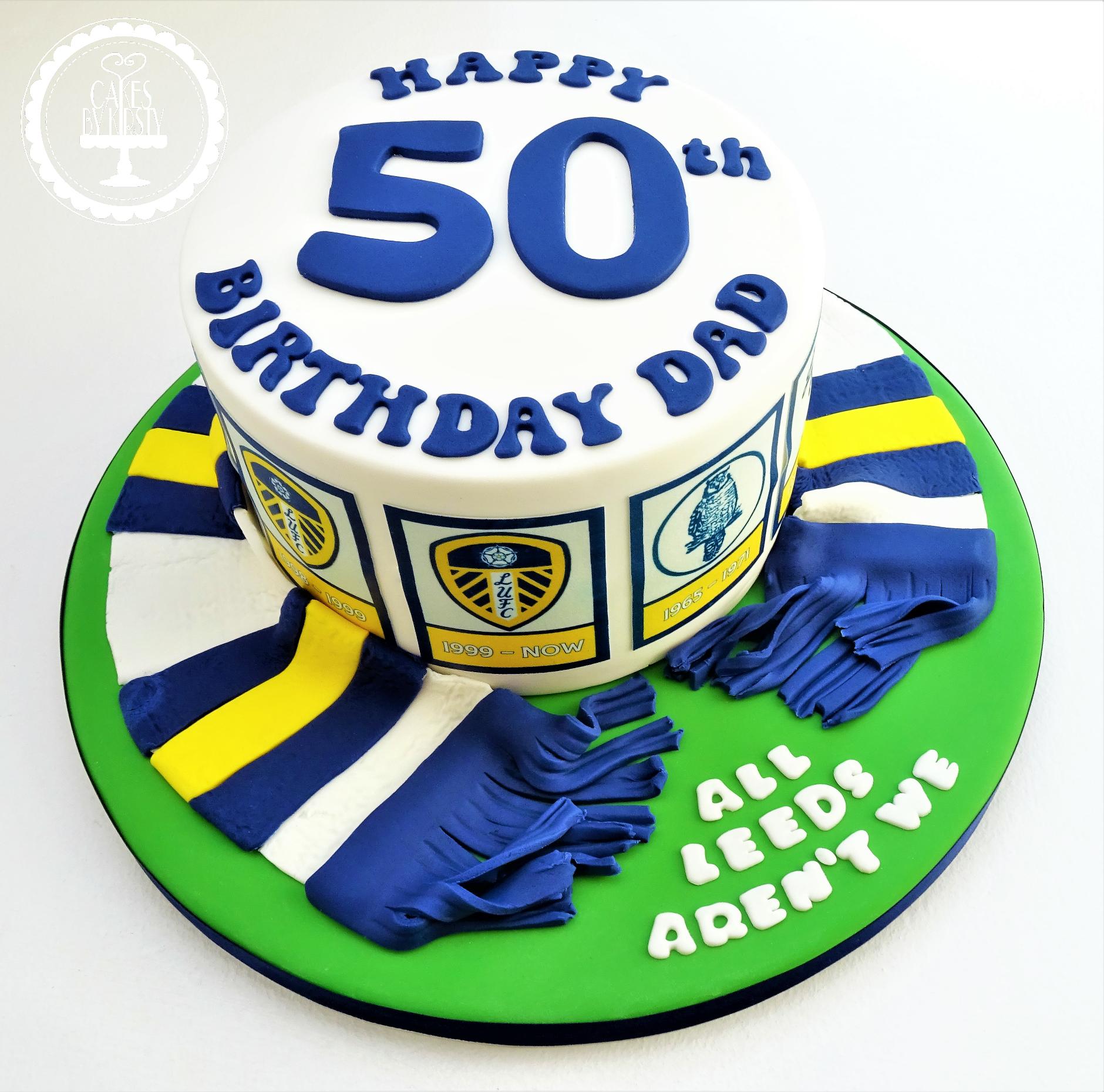 Leeds United Cake