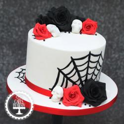 20191030 - Gothic Wedding Cake