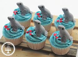 Seal Cupcakes