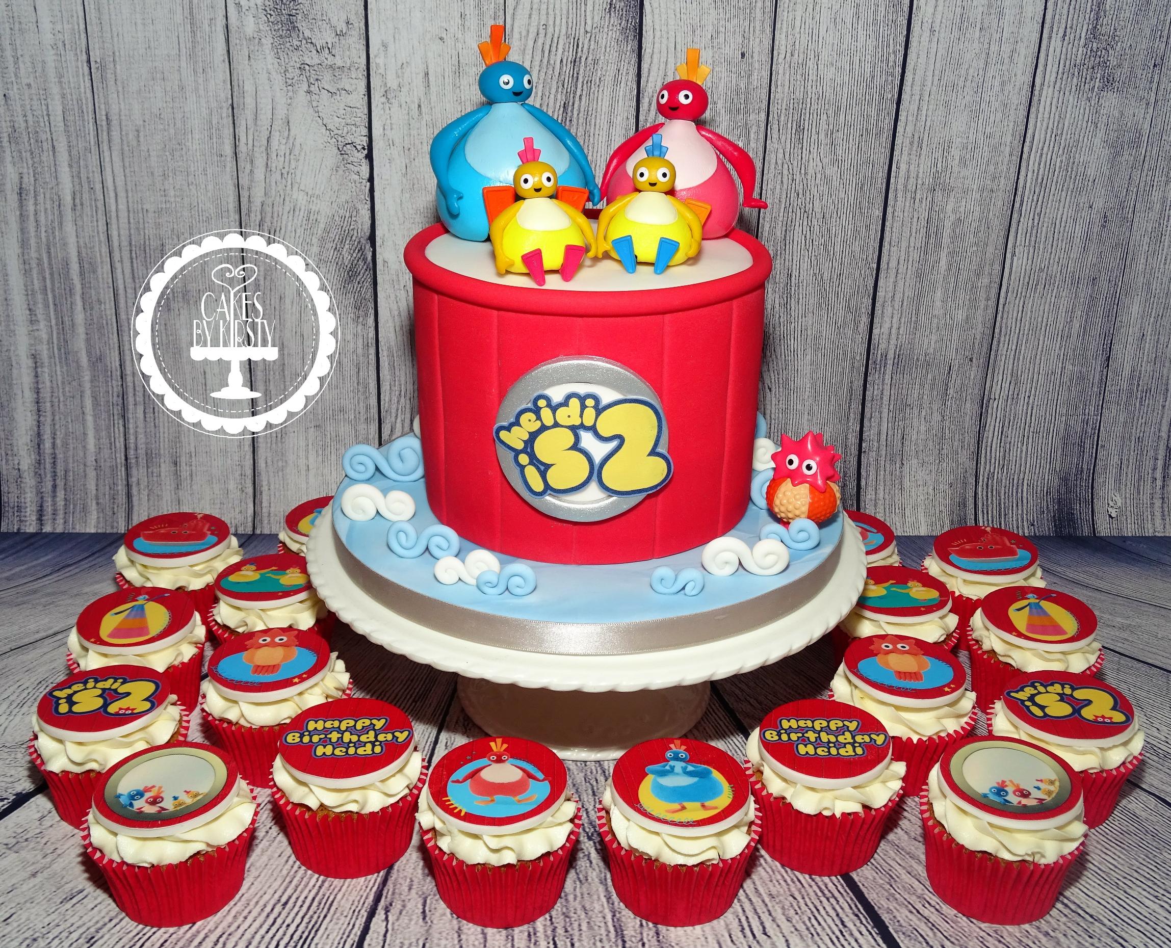 Twirlywoo Cake & Cupcakes