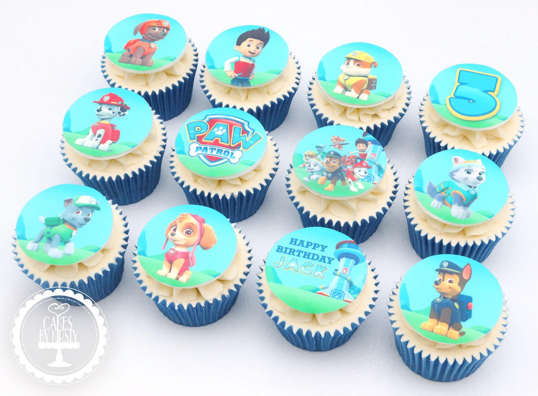 20210118 - Paw Patrol Cupcakes