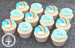 20200717 - Rainbow Cupcakes