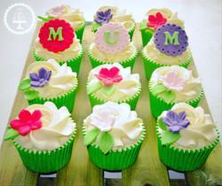 Mum Flower Cupcakes