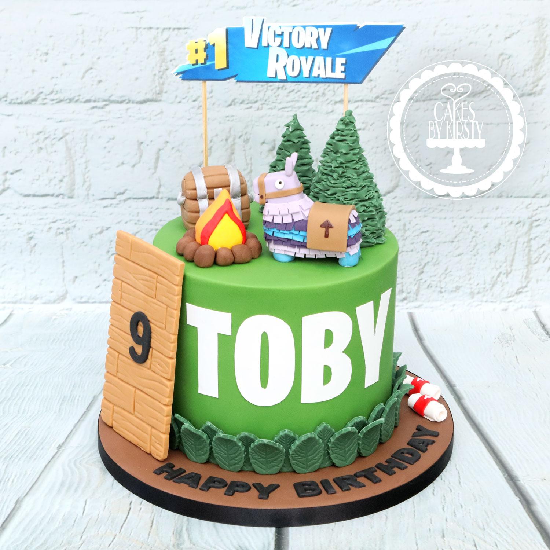20201115 - Fortnite Cake