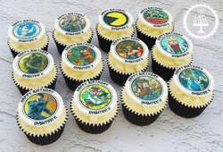 Gaming Cupcakes (Edible Image)