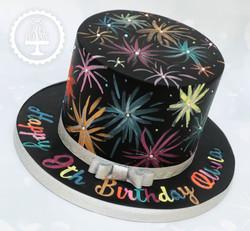 20191104 - Fireworks Birthday Cake
