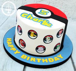 20190810 - Pokemon 5th Birthday Cake