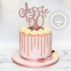 20210202 - Smarties Drip Cake