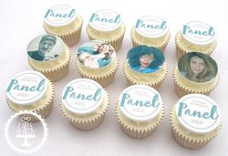 Mamas & Papas Panel Event Cupcakes