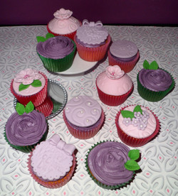 Mother's Day Cupcakes