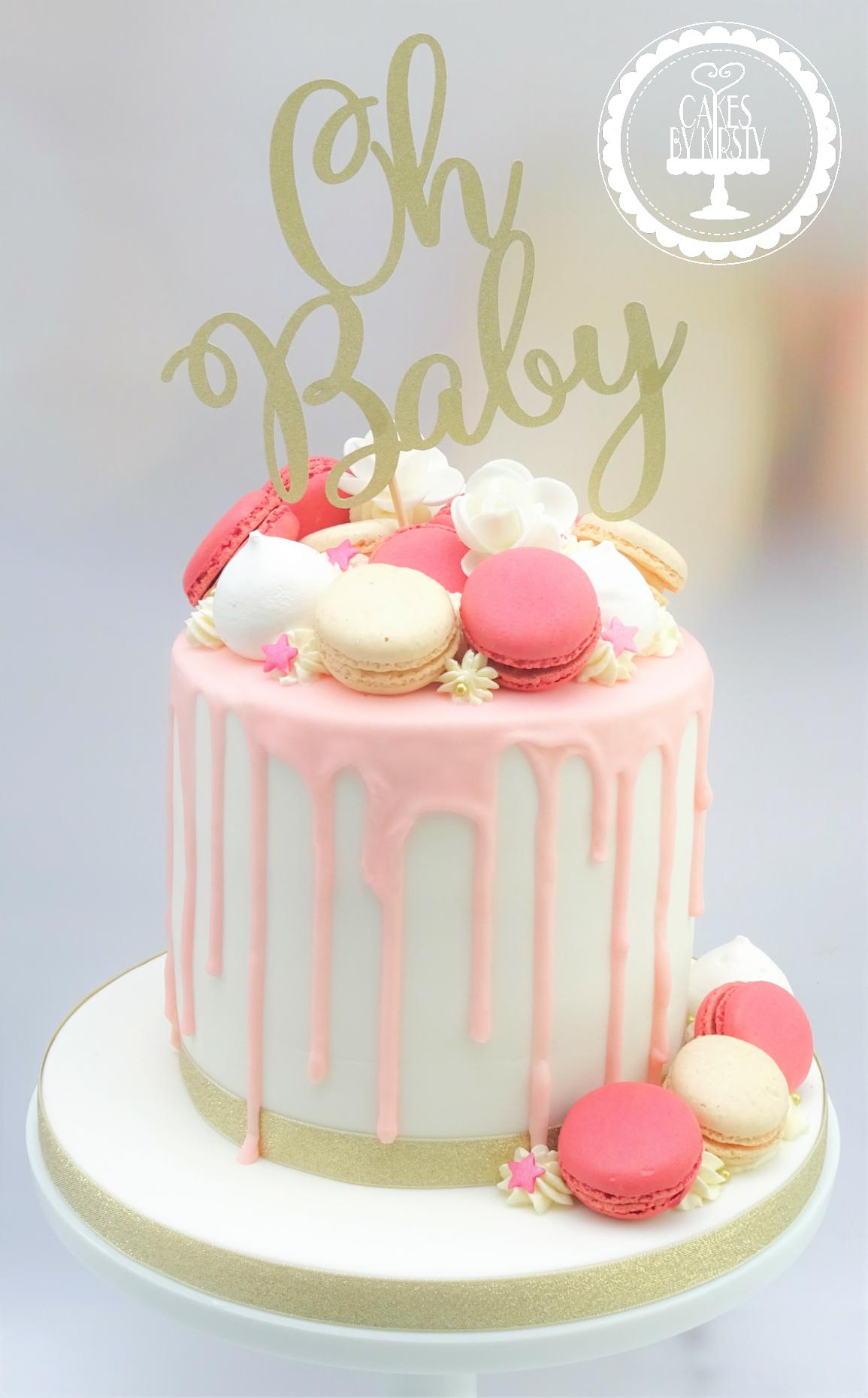 Oh Baby Drip Cake