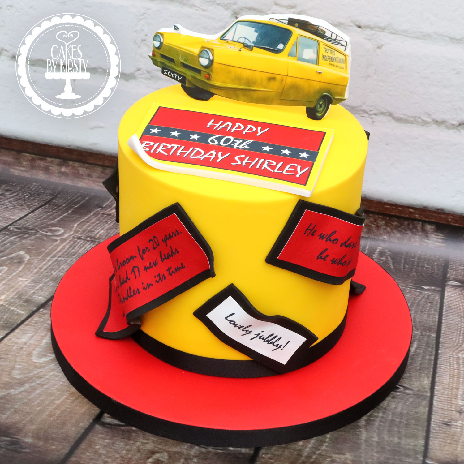 20201113 - Only Fools and Horses Cake