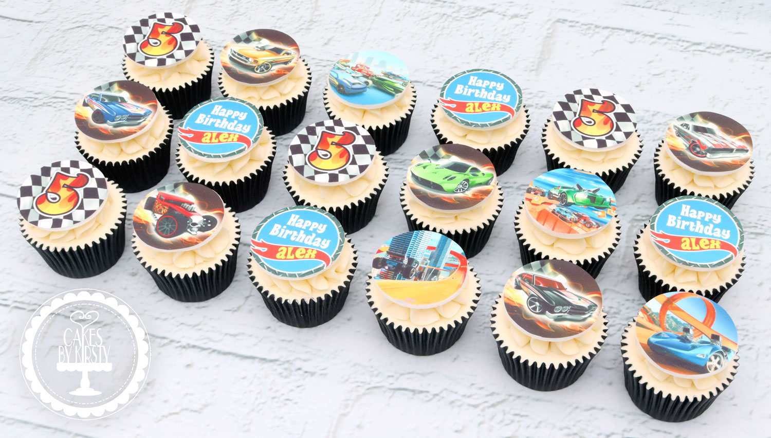 20201209 - Hot Wheels Cupcakes