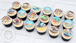 20201209 - Hot Wheels Cupcakes