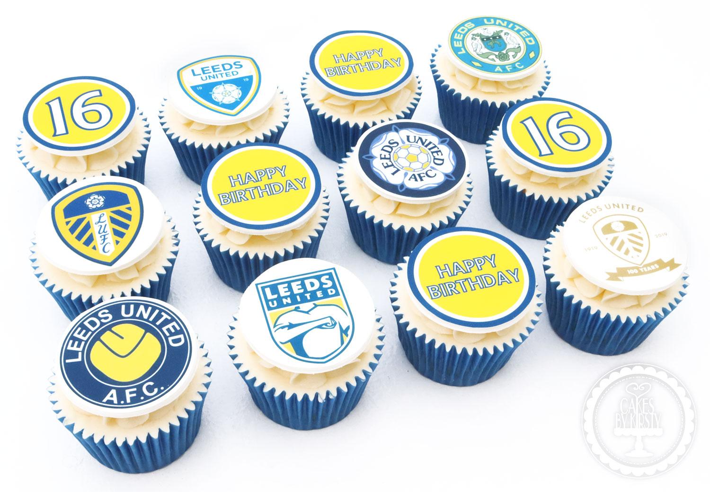 20191024 - Leeds United Cupcakes