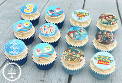 20201212 - Toy Story Baby Shark Cupcakes