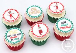 20201130 - Elf on the Shelf Cupcakes