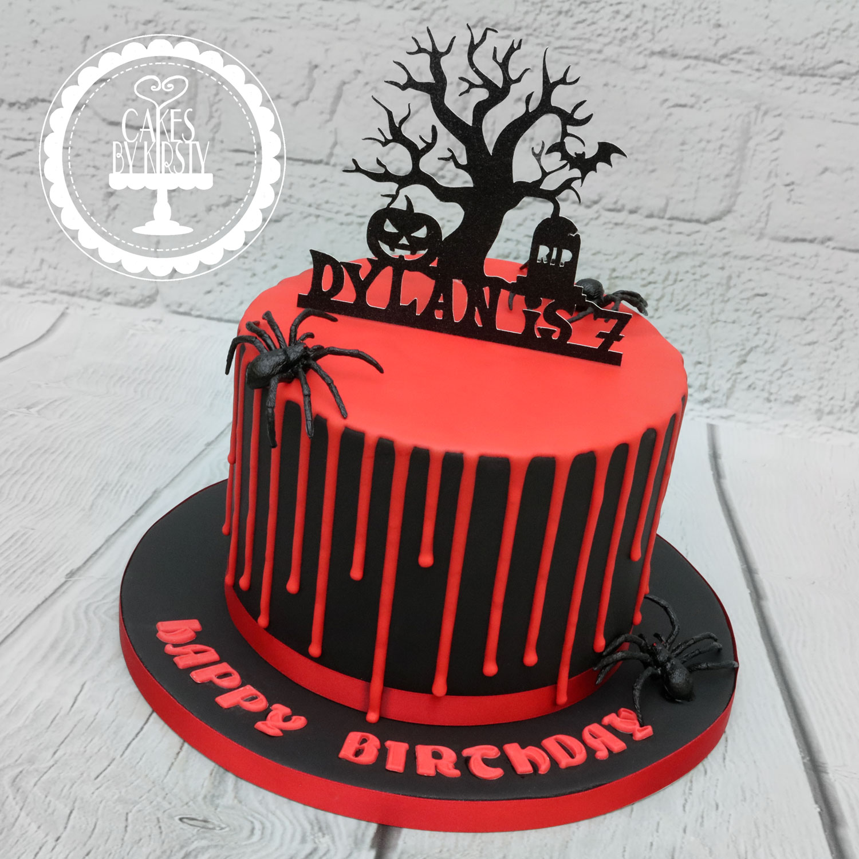 20191116 - Halloween Drip Cake
