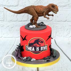 20210205 - Jurassic Park Cake