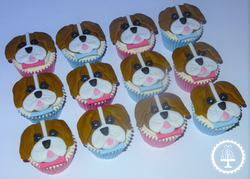 Beagle Cupcakes